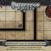 Pathfinder Flip-tiles - Dungeon Vaults Expansion (Role Playing Game) - Cover