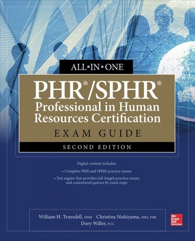 PHR/SPHR Professional In Human Resources Certification All-In-One Exam  Guide - William H  Truesdell (Paperback)