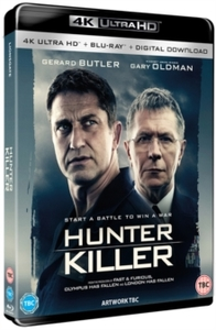 Hunter Killer (Blu-ray) - Cover