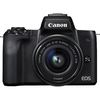 Canon Eos M50 Mirrorless DSLR Black Body