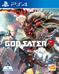 God Eater 3 (PS4) - Cover