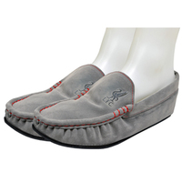 Liverpool Embossed Moccasin Slippers (Size 11-12) - Cover