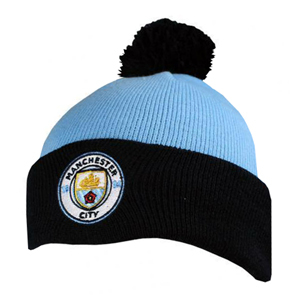 Manchester City Bobble Knitted Hat - Merch Online  7a640878d6db
