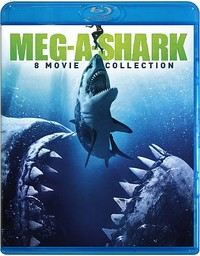 Meg a Shark Collection (Region A Blu-ray) - Cover