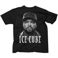 Ice Cube Good Day Face Men's Black T-Shirt (Large)