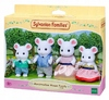 Sylvanian Families - Marshmellow Mouse Family Figures Cover