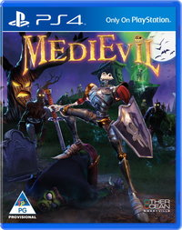 MediEvil Remastered (PS4) - Cover