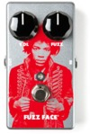 Dunlop JHM5 Jimi Hendrix Fuzz Face Electric Guitar Effects Pedal (Silver)