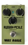 Way Huge WM42 Smalls Russian-Pickle Fuzz Electric Guitar Effects Pedal (Green)