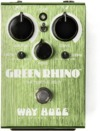 Way Huge WHE207 Green Rhino Overdrive MKIV Electric Guitar Effects Pedal (Green)