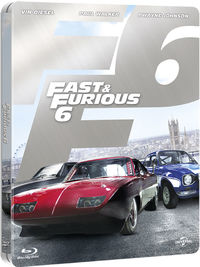 Fast & Furious 6 (Blu-ray) - Cover