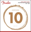 Fender Dura-Tone 10-48 Coated Phosphor Bronze Extra Light Acoustic Guitar Strings