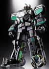 Power Rangers - Megazord (Black Version) Gx-72b Sould of Chogokin Action Figure - SDCC18 (Figure)