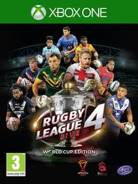 Rugby League Live 4 - World Cup Edition (Xbox One) - Cover