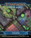 Starfinder Flip-Mat - Warship (Role Playing Game)