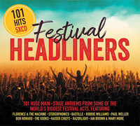 Various Artists - 101 Festival Headliners (CD) - Cover