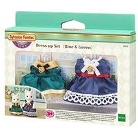Sylvanian Families - Dress up Set (Blue & Green) (Playset)
