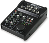 Alto Professional ZMX52 ZMX Series 5 Channel Compact Mixer (Black)