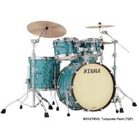 Tama MR42TMVS Starclassic Maple Series 4pc Limited Edition Acoustic Drum Kit - Turquoise Pearl (10 12 16 22 Inch)