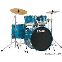 Tama RC52KH6 Rhythm Mate 5pc Limited Edition Acoustic Drum Kit - Blue Phoenix Tree (10 12 14 16 14 22 Inch)