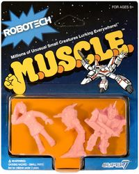 Robotech - Muscle Pack B (Pink) - Cover