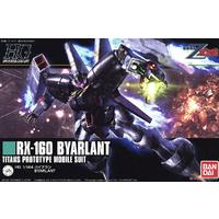 Bandai - 1/144 - Mobile Suit Zeta Gundam - RX-160 Byarlant Titans Prototype Mobile Suit (Plastic Model Kit)