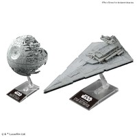 Bandai - 1/14500 - Star Wars - Death Star II & Star Destroyer (Plastic Model Kit) - Cover