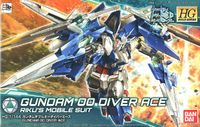 Bandai - 1/144 - Gundam Build Divers - Gundam 00 Diver Ace (Plastic Model Kit) - Cover