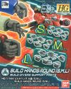Bandai - 1/144 - Gundam Build Divers - Build Hands Round Type (Plastic Model Kit Add-On)