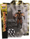 Marvel - Select Brown Wolverine Figure Unmasked