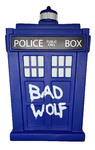 Doctor Who - Titans: 6.5 Bad Wolf Tardis Figure