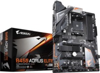 Gigabyte B450 AORUS ELITE AM4 AMD ATX Motherboard (AMD First and Second Generation Ryzen)