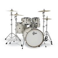 Gretsch RN2-E825 Renown Series 5pc Maple Acoustic Drum Shell Pack - Vintage Pearl (10 12 16 14 22 Inch)