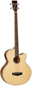 Tanglewood TW8 E AB Winterleaf Series Acoustic Bass Guitar (Natural) - Cover