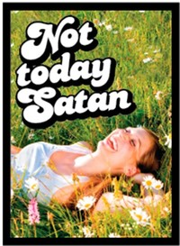 Legion Supplies - Card Sleeves - Not Today Satan (50 Sleeves) - Cover