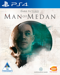The Dark Pictures Anthology - Man Of Medan (PS4) - Cover