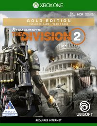 Tom Clancy's The Division 2 - Gold Edition (Xbox One) - Cover