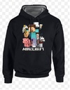 Minecraft - Sprites Black Kohls - Youth Hoodie  - Small (8-9 Years)