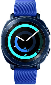 Samsung - Gear Sport Watch SM-R600 XFA SAMOLED 1.2 inch - Blue