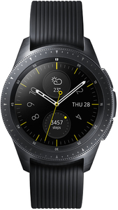 Samsung - Galaxy Watch 1.2 inch BT 42mm - Black with Black Strap