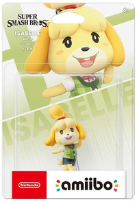 amiibo - Super Smash Bros. Collection - Isabelle (Nintendo Switch) - Cover