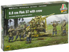 Italeri - 1/56 - 8.8cm Flak 37 with crew (Plastic Model Kit)