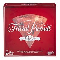 Trivial Pursuit Ruby 40th Anniversary Edition (Board Game) - Cover