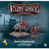 Runewars Miniatures Game - Baron Zachareth Hero Expansion (Miniatures)