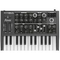 Arturia MicroBrute 25 Key Analog Synthesizer (Black)