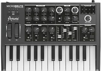 Arturia MicroBrute 25 Key Analog Synthesizer (Black) - Cover