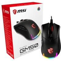 MSI Clutch GM50 Ambidextrous Gaming Mouse - Black