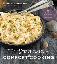 Vegan Comfort Cooking - Melanie Mcdonald (Paperback) - Cover