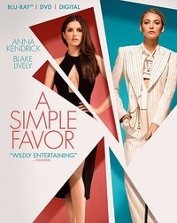 Simple Favor (Region A Blu-ray) - Cover