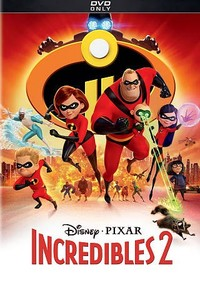 Incredibles 2 (Region 1 DVD) - Cover